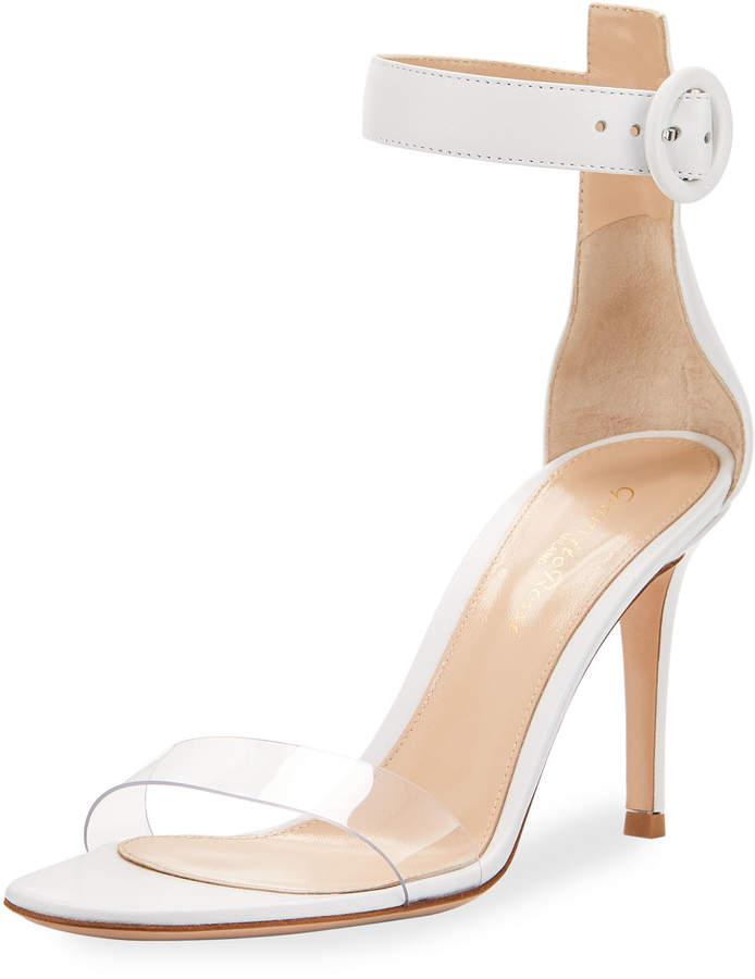 Gianvito Rossi Portofino PVC-Strap Sandal