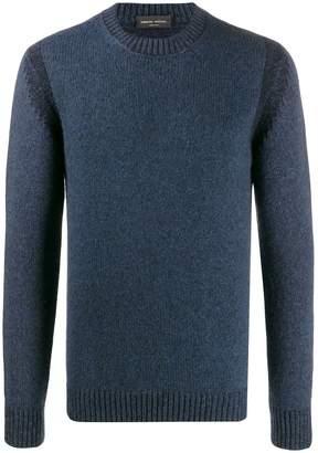 Roberto Collina crew neck ribbed sweater