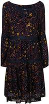Steffen Schraut boat neck print dress