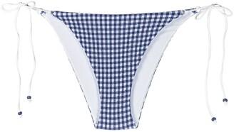 La Perla Gingham Bikini Bottoms