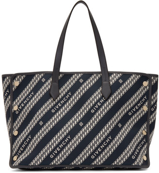 Givenchy Black Medium Bond Shopper Tote