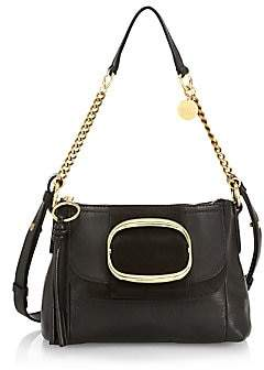 See by Chloe Women's Small Grained Leather Saddle Bag
