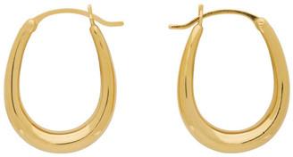 Sophie Buhai Gold Tiny Egg Hoop Earrings