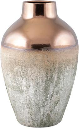 IMAX 22In Hargrove Metallic Top Vase