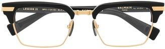 Balmain Eyewear Legion II rectangle-frame glasses