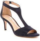 Antonio Melani Daphnee Suede T-Strap Dress Sandals