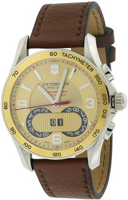 Victorinox Men's Leather Watch