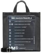 MM6 MAISON MARGIELA Coated canvas tote
