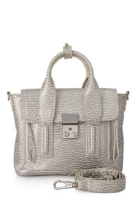 3.1 Phillip Lim Pashli Grey Leather Handbags