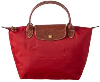 Longchamp Le Pliage Small Nylon Short Handle Tote