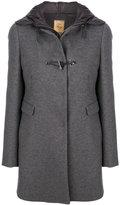 Fay mid-length hooded coat