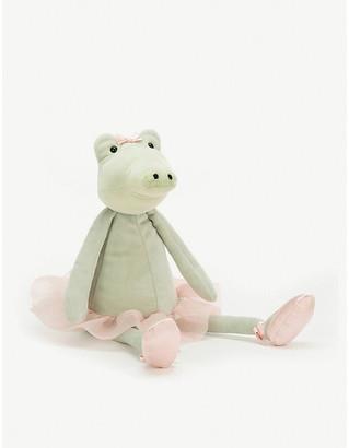 Jellycat Dancing Darcey alligator soft toy 33cm