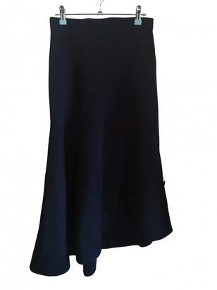 Cos Black Cotton - elasthane Skirt for Women