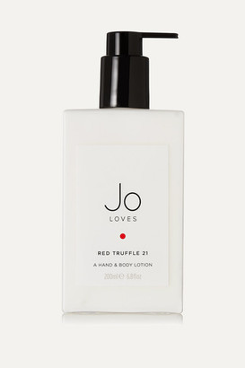 Jo Loves - Red Truffle Hand & Body Lotion, 200ml - Colorless