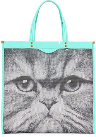 Anya Hindmarch Mesh Kitsch Cat Tote Bag