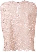 Valentino heavy lace blouse - women - Cotton/Polyamide/Rayon - 42