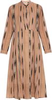 Rachel Comey New Hue ikat-print cotton-voile midi dress