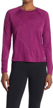 New Balance Q Speed Fuel Jacquard Long Sleeve T-Shirt