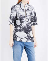 Aries Bleached denim shirt