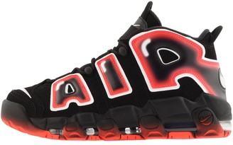 Nike More Uptempo 96 Trainers Black