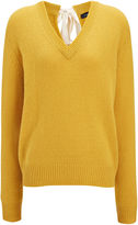 Joseph Open Cashmere V Neck Top