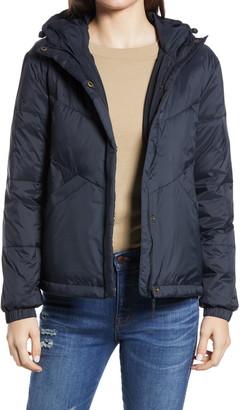 Madewell Women's Chevron Packable Puffer Jacket