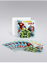 Marks and Spencer Marvel Avengers Thank You Cards