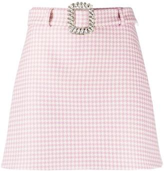 Giuseppe di Morabito Herringbone Print Skirt