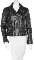 Victoria Beckham Leather Moto Jacket