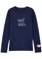 J Brand X Bella Freud Intarsia Merino Wool Jumper