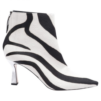 Wandler White Leather Ankle boots