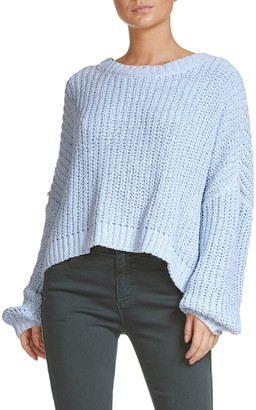 Elan International Drop Shoulder Knit Sweater