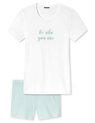 Schiesser Women's Schlafanzug Kurz Pyjama Set,20 (Size: )
