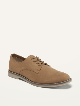 Old Navy Water-Repellent Faux-Suede Buck Shoes for Men