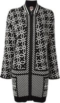 I'M Isola Marras multi print cardi-coat