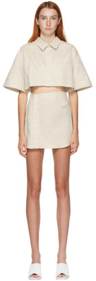Jacquemus Beige Arle Dress