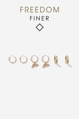Topshop Freedom Hoop Earrings