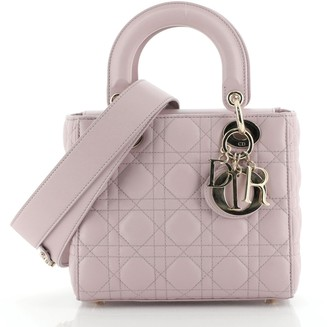 Christian Dior My ABCDior Lady Bag Cannage Quilt Lambskin