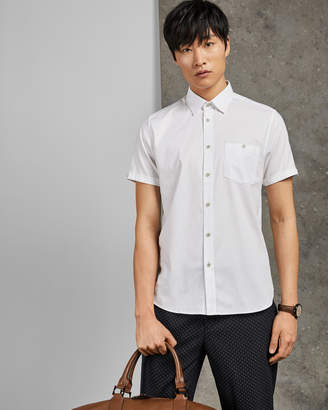 Ted Baker WALLABI Cotton short sleeved shirt