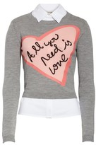 Alice + Olivia Women's Nikia All You Need Is Love Pullover