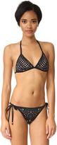 Pilyq Laser Triangle Bikini Top