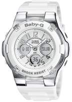 Baby-G Women's Analogue/Digital Quartz Watch with Resin Strap – BGA-110-7BER