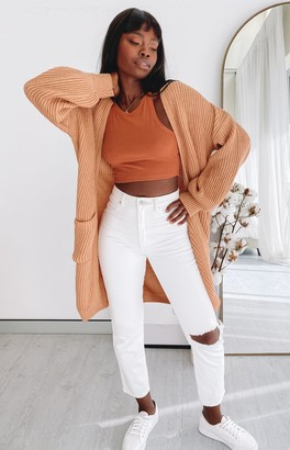 Beginning Boutique Loving Is Easy Cardi Caramel