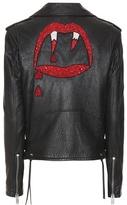 Saint Laurent Classic L01 Blood Luster Leather Jacket
