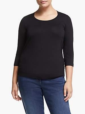 Marina Rinaldi Persona by 3/4 Sleeve Jersey Top