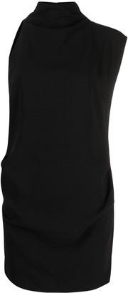 IRO Victa asymmetric-sleeve mini dress
