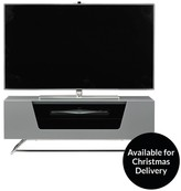Alphason Chromium TV Stand - Fits Up To 50 Inch TV - Grey