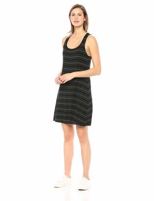 Daily Ritual Amazon Brand Women's Jersey Sleeveless Racerback Swing Dress