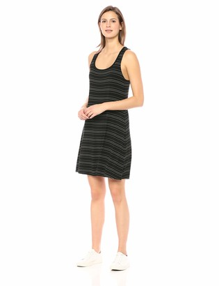 Daily Ritual Women's Jersey Sleeveless Racerback Swing Dress
