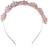 Morgan & Taylor Crystal Flower Headband